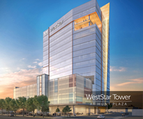 WestStar Tower at Hunt Plaza rendering front view